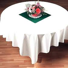 60 square table cloth x inches