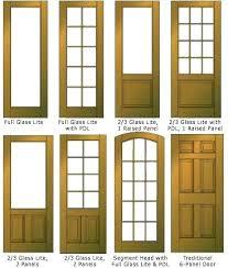 4 panel exterior door glass panel exterior door 6 with wooden front doors panels 4 pane