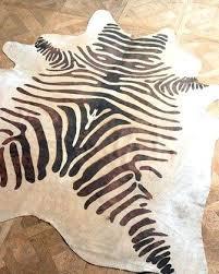 zebra hide rug at rugs south africa