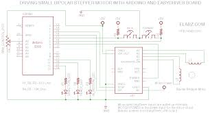 circuit diagram for the easydriver arduino manual stepper circuit diagram for the easydriver arduino manual stepper control