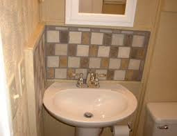 Backsplash Bathroom Ideas New Pedestal Sink Backsplash Ideas Bathroom Sink Backsplash Bathroom