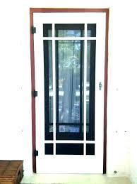 interior french door glass inserts wood screen storm doors insert with aluminium swing apartment internal blinds
