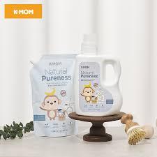 Nước giặt đồ sơ sinh hữu cơ K-mom Hàn Quốc chính hãng 124,000đ