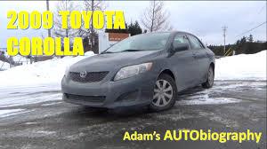 2009 TOYOTA COROLLA | Car Review | Adam's AUTObiography - YouTube