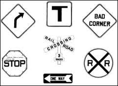 Small Picture Traffic Signs To ColorSignsPrintable Coloring Pages Free Download