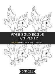 bald eagle template bald eagle template small