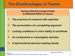 teamwork disadvantages essay  teamwork disadvantages essay