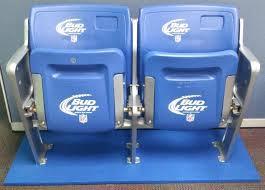 bud light stadium chairs chair design ideas basketball bud light lime chair