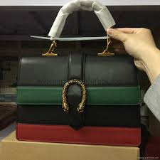gucci 2017 bags. 2017 new style gucci dionysus leather top handle bag tote 2 bags