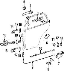 parts com® mercedes benz outside door partnumber 1637600659 2001 mercedes benz ml430 base v8 4 3 liter gas lock hardware