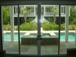 4 panel sliding glass patio doors sliding doors ideas