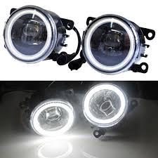 2013 Acura Ilx Fog Light Angel Eyes Led Fog Light For Acura Ilx 1 5l L4 Electric Gas 2013 2014 Fog Lamp Assembly Super Bright Halogen Fog Lamp Lights