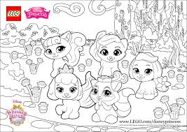 Small Picture color fun with the Palace Pets princess lego disney Coloring pages
