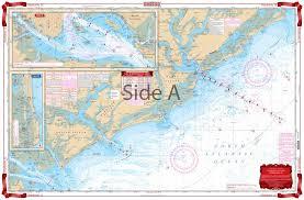 Charleston Nautical Chart Charleston Sc Navigation Chart 95
