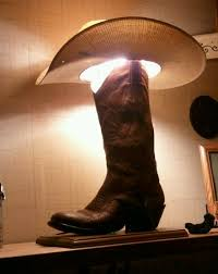 cowboy boot lamp western