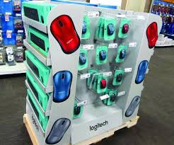 Logitech Vending Machine Simple Logitech Pallet Display Shopper Marketing
