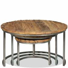 coffee table nesting round glass coffee table nest