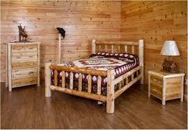 Log Bedroom Furniture Sets Bedroom Bed With Railing Headboard Rustic Bedroom Furniture Log