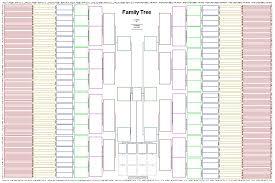 20 Generation Pedigree Chart 73 Valid 15 Generation Genealogy Chart