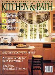 Ann Fletcher's own kitchen is featured on the front cover