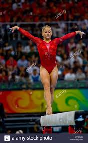 floor gymnastics shawn johnson. Shawn Johnson (USA) Women\u0027s Individual All Around Gymnastics Silver Medalist At The 2008 Olympic Summer Games, Beijing, China Floor