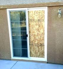 sliding patio door installation adorable electronic