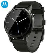 motorola smartwatch. motorola moto 360 2nd gen smartwatch - 42mm black leather a