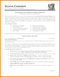 Sample Resume For Management Position Free Resume Example And
