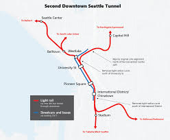 Downtown Seattle Light Rail Map Transport Review
