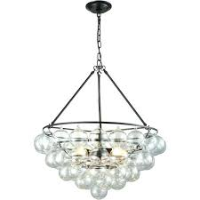 round glass ball chandelier living lovely round glass ball chandelier floating glass bubble cloud chandelier