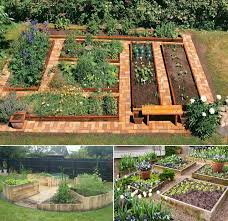 Small Picture How to Build A U Shaped Raised Garden Bed iCreatived