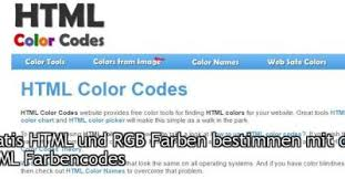 Web Color Chart Names Html Color Codes Tumblr