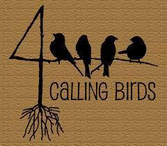 Sallie bird   The 4 Calling Birds