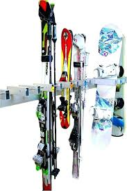snowboard wall rack locking snowboard wall rack 5 boards ski resort rack snowboard wall rack