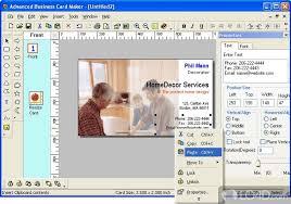 Advanced Business Card Maker Download