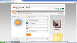 My Job Chart Eighteen25