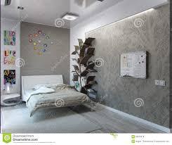 Kids Bedroom Interiors Kids Bedroom Interior Design 3d Rendering Stock Illustration
