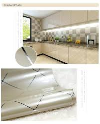 sticky paper for furniture. Kitchen Cabinet Sticky Paper Furniture Renovation Stickers Decorative Film Self Adhesive Wall Waterproof For