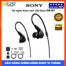 Ớ Tai Nghe Kiểm Âm In-Ear Sony IER-M7 - Bảo Hành 12 Tháng Toàn bán  18,762,940đ