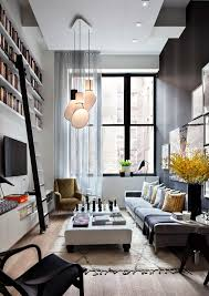 lighting living room ideas. doubleheight living room with builtin bookshelves high up on wall that are accessed by a ladder iu0027ve always wanted library tall enough it requires lighting ideas g