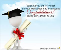 Congratulations For Graduation Happiness Prosperity Peace And Love Graduation