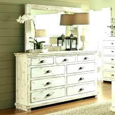 Distressed White Wood Bedroom Furniture Uk Rustic Office Grey Set ...