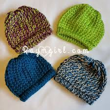 Loom Hat Patterns Interesting Loom Knit Infant Hats Raymgirl