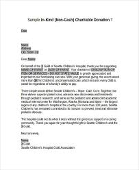 thank you letter to donors acknowledgement letter examples