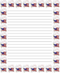 Free Writing Paper American Free Printable Stationery For Kids Regular Lined
