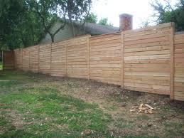 horizontal wood fence. Perfect Fence We  Inside Horizontal Wood Fence
