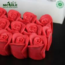 <b>3D Rose</b> Silicone Mold <b>Soap</b> Handmade Loaf Flowers Baking Cake ...