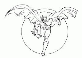 Small Picture Batman Coloring Pages For Kids Printable Coloring Home