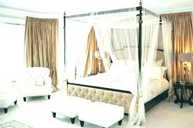 Curtains For Canopy Bed Frame King Canopy Bed Frame Bed Frame With ...