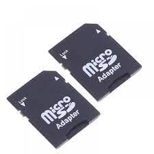 Satın Al SD SDHC Hafıza Kartı Adaptörü Dönüştürücü Için 2 Adet Micro SD  TransFlash TF Kart,